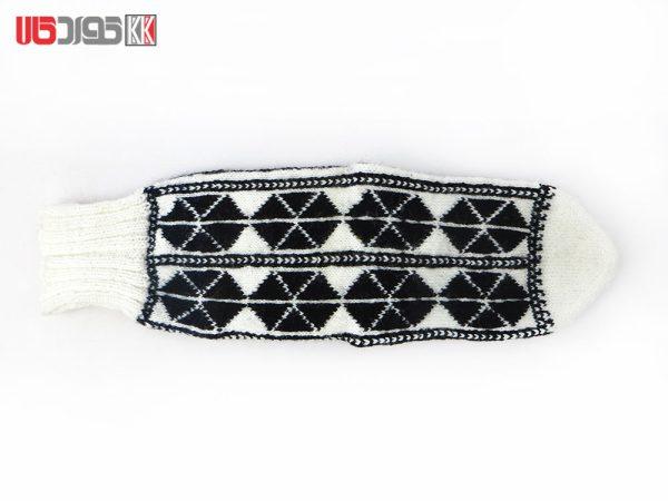 جوراب کاموایی زنانه دستبافت سنتی کد 121
