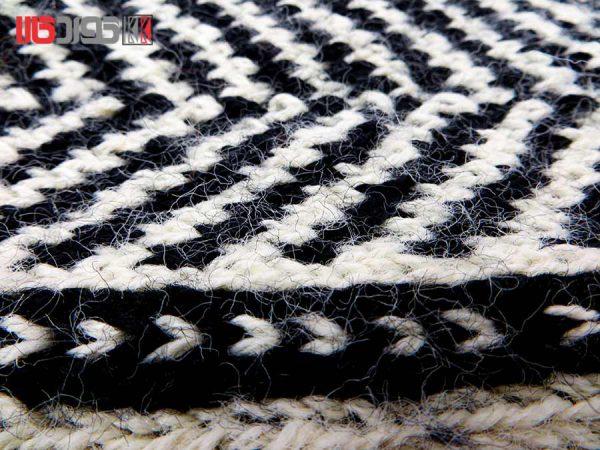 جوراب پشمی مردانه دستبافت سنتی کردستان کد 116