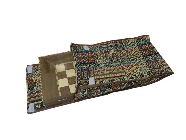 کاور تخته نرد پارچه سنتی 50 سانتی کد 107