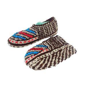 جوراب بافتنی کاموایی زنانه کردستان کد 1