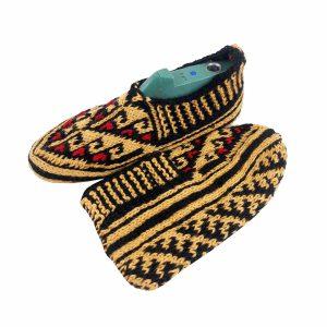 جوراب بافتنی کاموایی زنانه کردستان کد 4