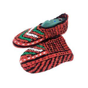 جوراب بافتنی کاموایی زنانه کردستان کد 12
