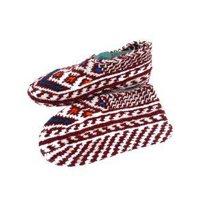 جوراب بافتنی کاموایی زنانه کردستان کد 13