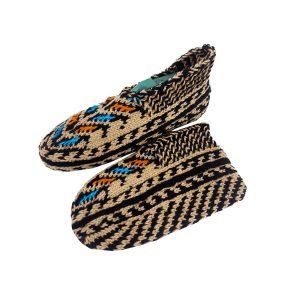 جوراب بافتنی کاموایی زنانه کردستان کد 14