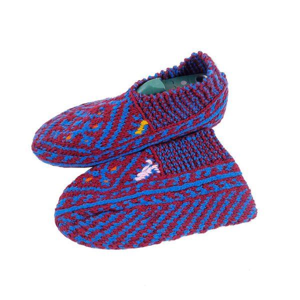 جوراب بافتنی کاموایی زنانه کردستان کد 16