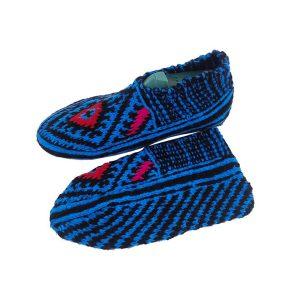 جوراب بافتنی کاموایی زنانه کردستان کد 17