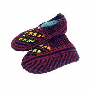 جوراب بافتنی کاموایی زنانه کردستان کد 18
