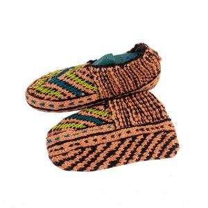 جوراب بافتنی کاموایی زنانه کردستان کد 21
