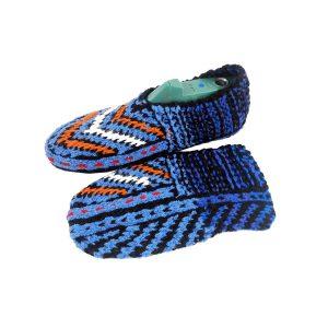 جوراب بافتنی کاموایی زنانه کردستان کد 22