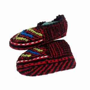 جوراب بافتنی کاموایی زنانه کردستان کد 24