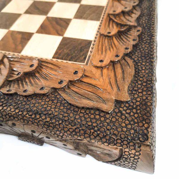 تخته نرد سنندج پشت صفحه شطرنج داخل ریشه کد 119