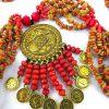 گردنبند شنبلیله سنتی کردستان کد 102
