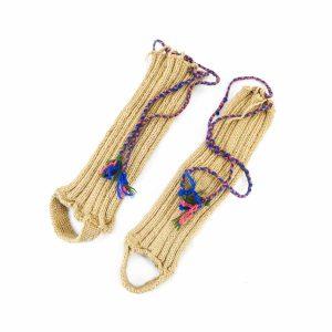 ساق بند کاموایی دستباف سنتی کردستان کد 103