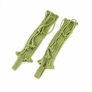 ساق بند کاموایی دستباف سنتی کردستان کد 105