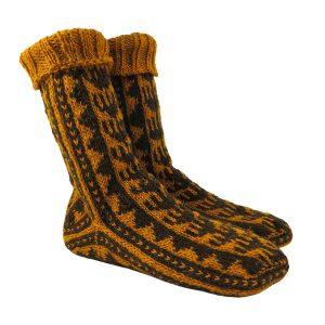 جوراب پشمی مردانه دستباف سنتی کردستان کد 131