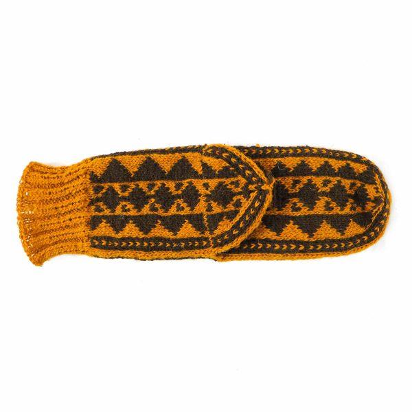 جوراب پشمی مردانه دستباف سنتی کردستان کد 132