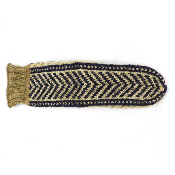 جوراب پشمی مردانه دستباف سنتی کردستان کد 139