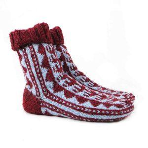 جوراب پشمی مردانه دستباف سنتی کردستان کد 141