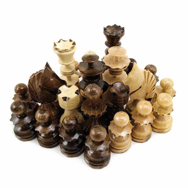 مهره شطرنج چوبی طرح بانتا