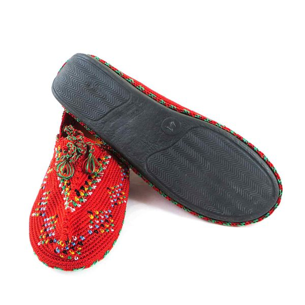کفش گیوه زنانه سنتی کرمانشاه سایز 40 کد 133