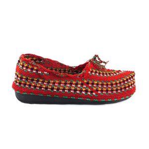 کفش گیوه زنانه سنتی کرمانشاه سایز 40 کد 131