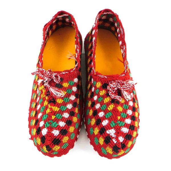 کفش گیوه زنانه سنتی کرمانشاه سایز 39 کد 139