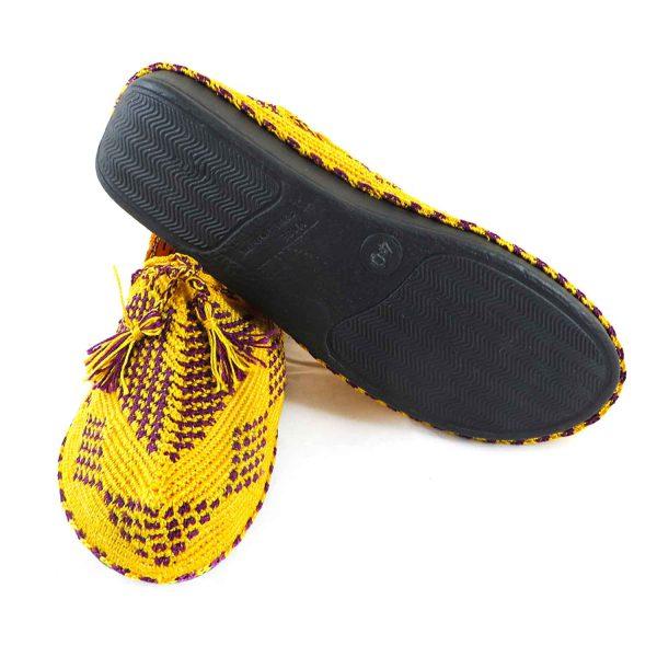 کفش گیوه زنانه سنتی کرمانشاه سایز 39 کد 132