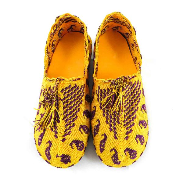کفش گیوه زنانه سنتی کرمانشاه سایز 38 کد 134