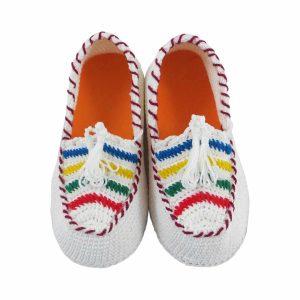 گیوه بچه گانه دستباف کردستان سایز 24 کد 108