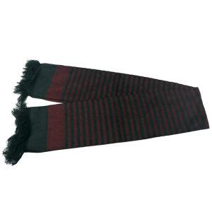 شال مردانه سنتی کردستان رنگ قرمز - مشکی