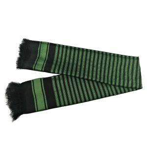 شال مردانه سنتی کردستان رنگ سبز - مشکی