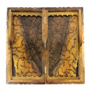 تخته نرد سنندج پشت صفحه شطرنج داخل ریشه طرح لیختنبرگ دور منبت کد 38