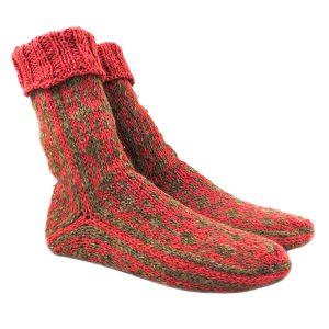 جوراب پشمی دستباف سنتی کردستان کد 207 سایز 40-41